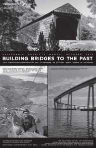 Building Bridges to the Past: Archives Month 2012 poster
