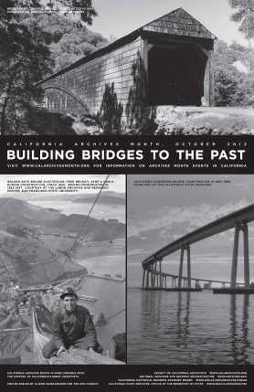 Building Bridges to the Past, 2012 Archives Month Poster